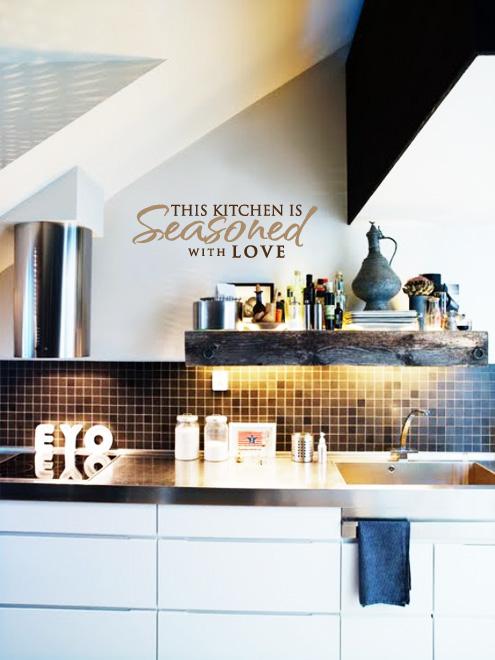 Sticker Kitchen wall decoration