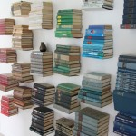 Wall Decoration with books