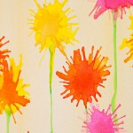 WaterColor Wall Decoration for kids room