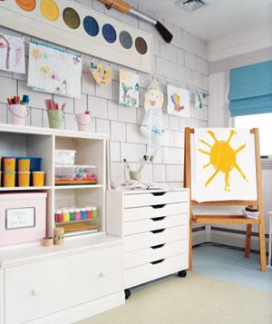 Kids room wall art gallery