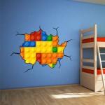 Lego wall art