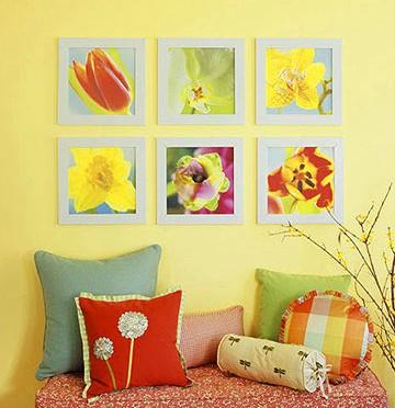 Pretty Floral Wall Art