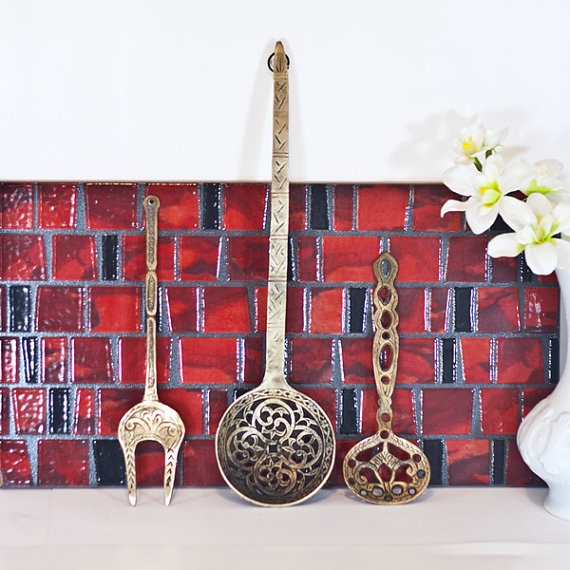 Spoon Fork Wall Decor