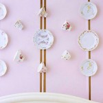 Tea Set wall decoration