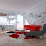 Contemporary Metal Wall Sculpture for Living Room