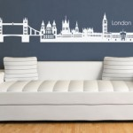 London Skyline Wall Stickers