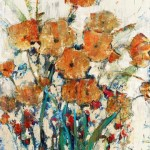 Abstract Canvas Floral art