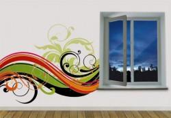 Decorative photo wallpaper