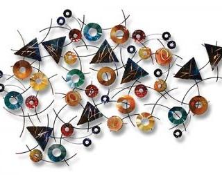 Geometrical design wall art