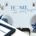 Wall Sticker with Photo Frames