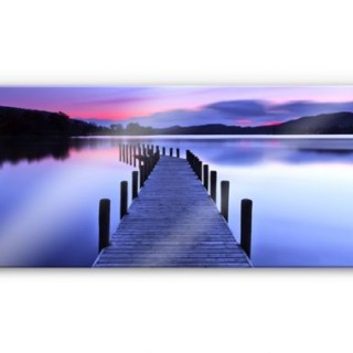 Calm and Serene View of Lake