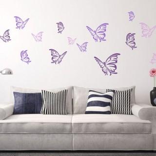 Butterflies Impression Wall sticker