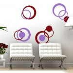Circle Bundle Wall sticker
