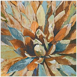 Agave Hues Canvas Wall Art